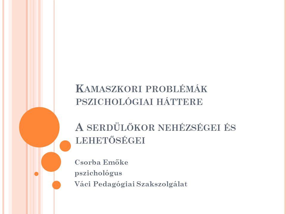 Csorba Emőke pszichológus Váci Pedagógiai Szakszolgálat