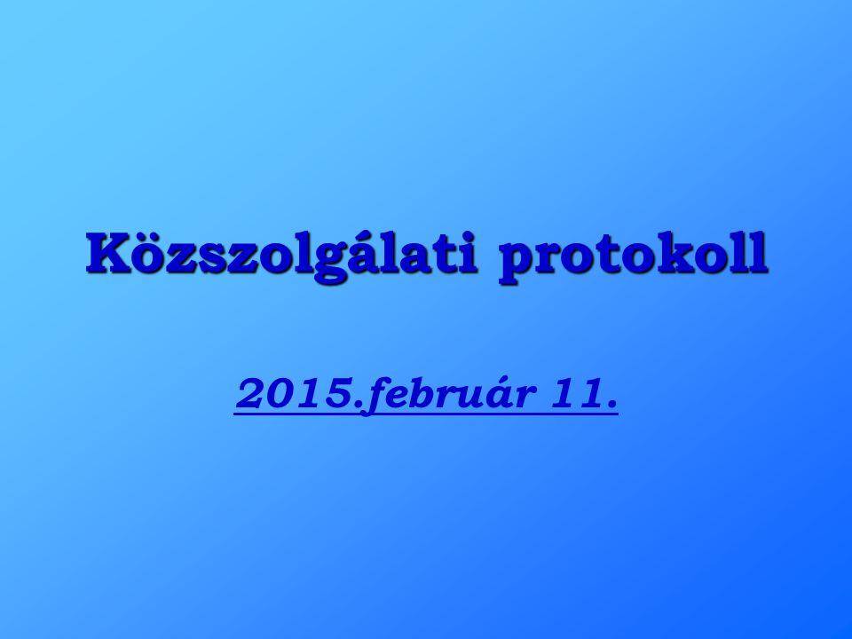 Közszolgálati protokoll