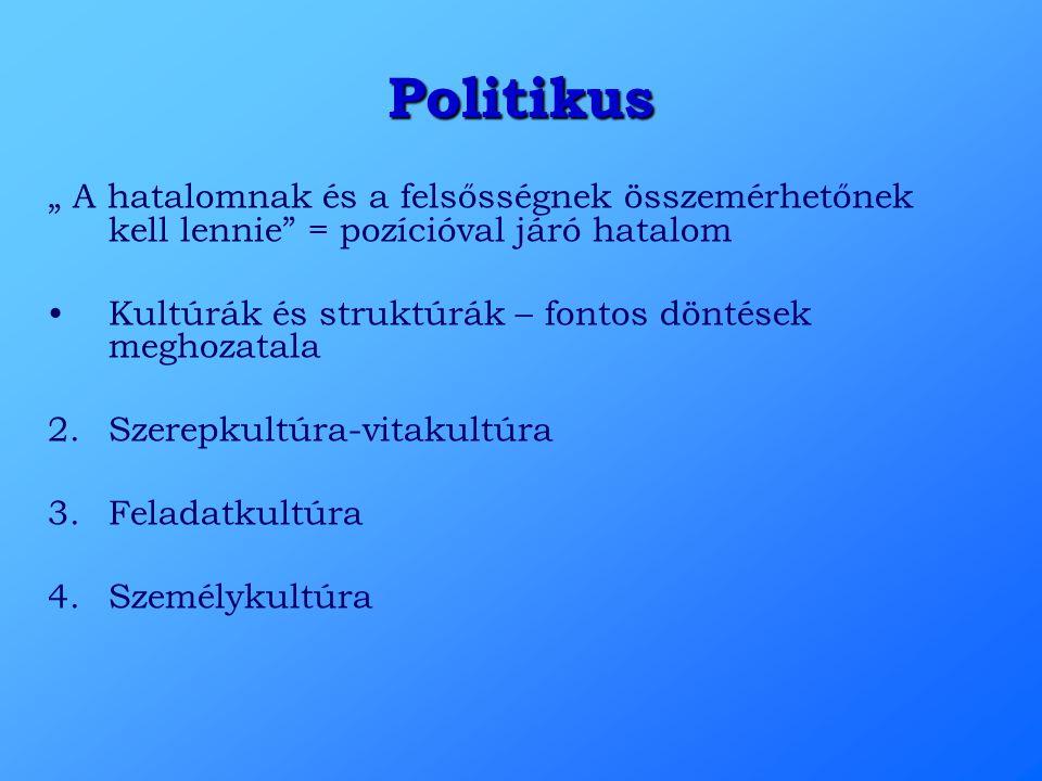 """Politikus """" A hatalomnak és a felsősségnek összemérhetőnek kell lennie = pozícióval járó hatalom."""
