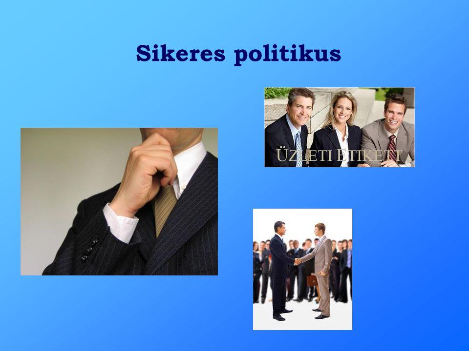 Sikeres politikus