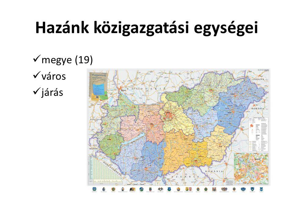 Hazánk közigazgatási egységei