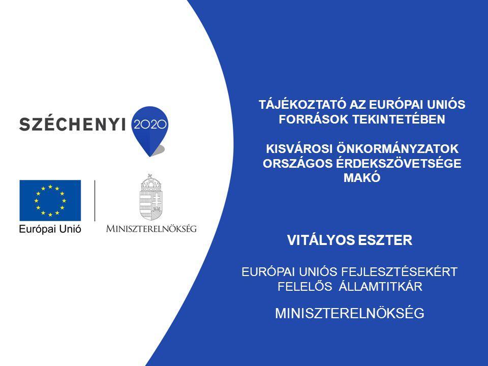 Európai uniós fejlesztésekért