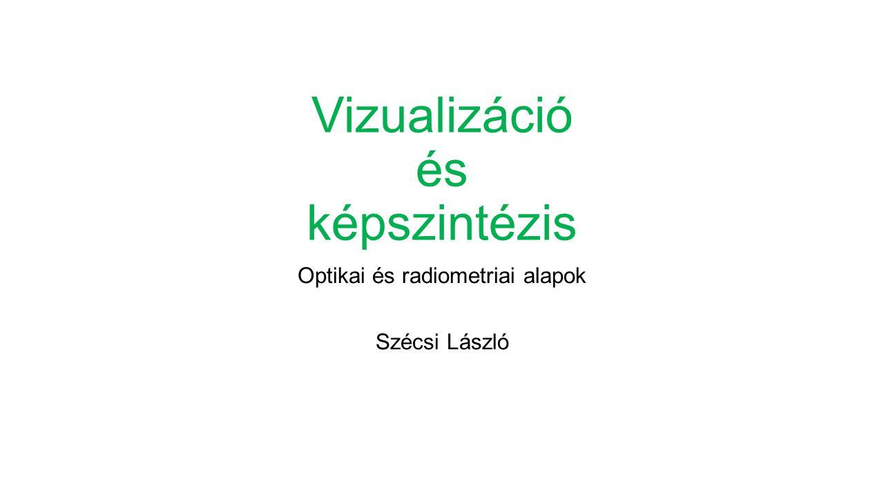 Vizualizáció és képszintézis