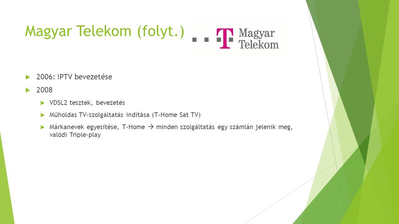 Magyar Telekom (folyt.)