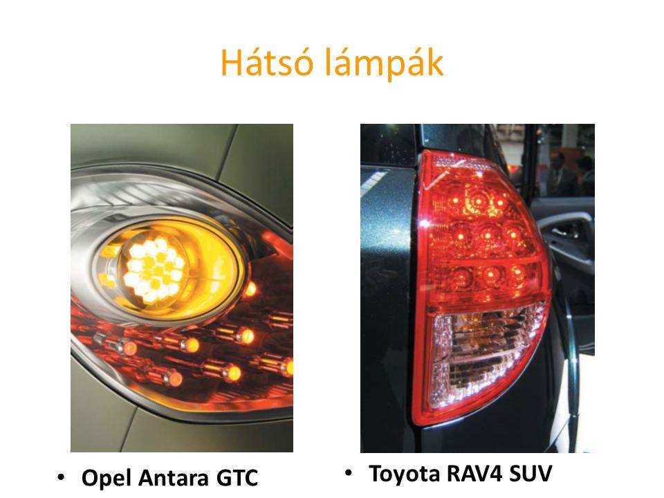 Hátsó lámpák Toyota RAV4 SUV Opel Antara GTC