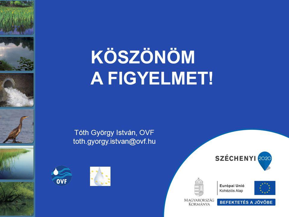 KÖSZÖNÖM A FIGYELMET! Tóth György István, OVF