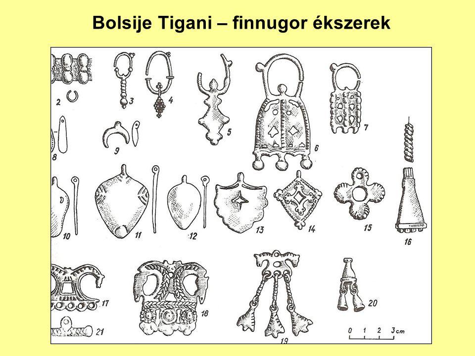 Bolsije Tigani – finnugor ékszerek