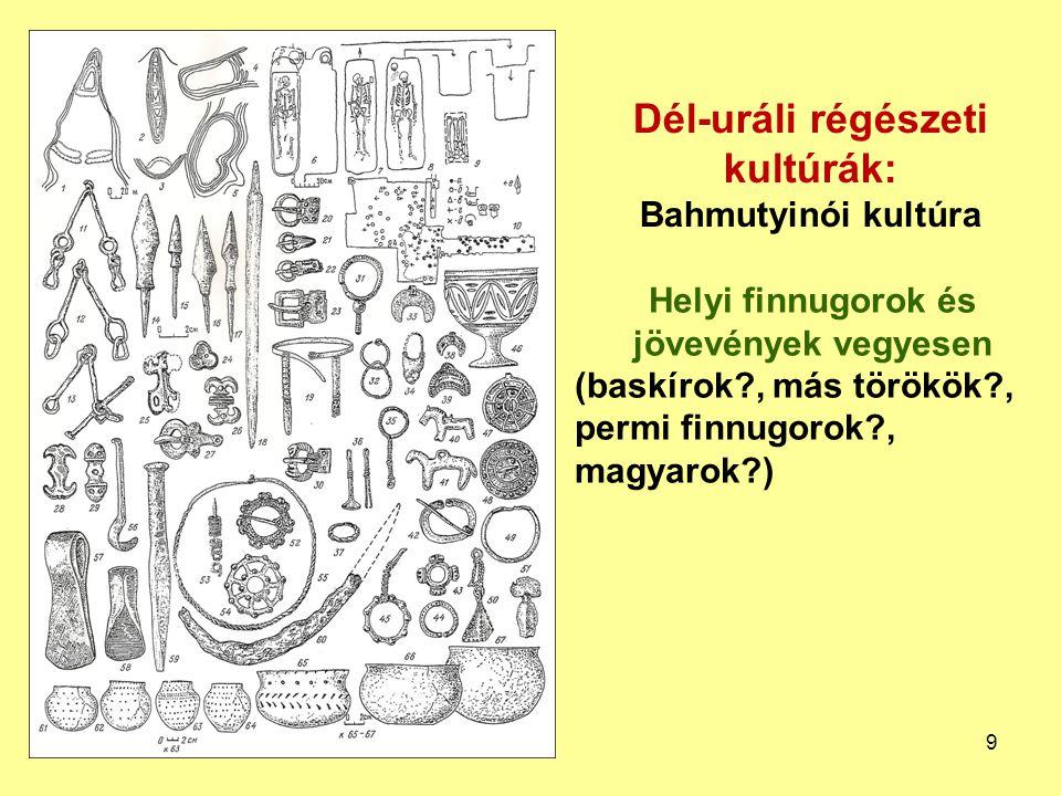 Dél-uráli régészeti kultúrák: Bahmutyinói kultúra