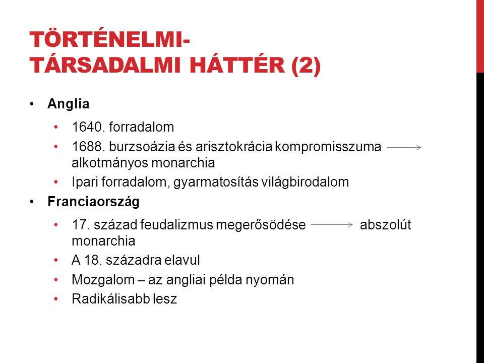 Történelmi-társadalmi háttér (2)