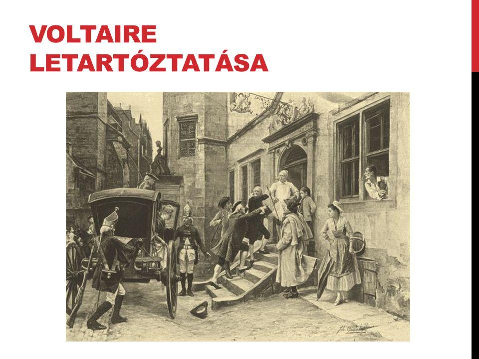 Voltaire letartóztatása