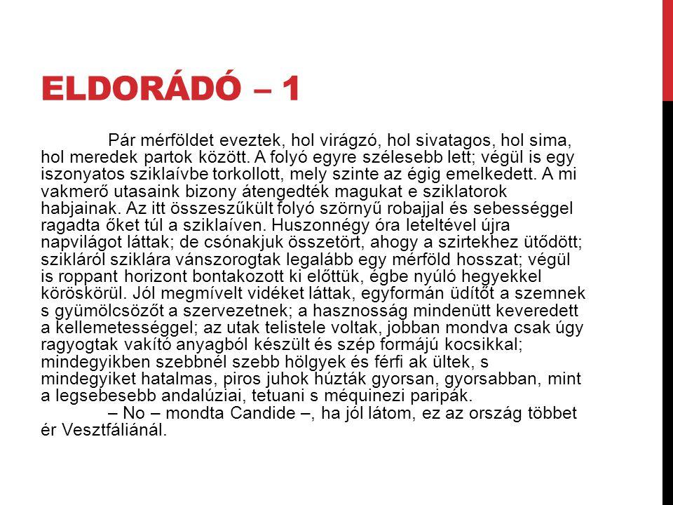 Eldorádó – 1