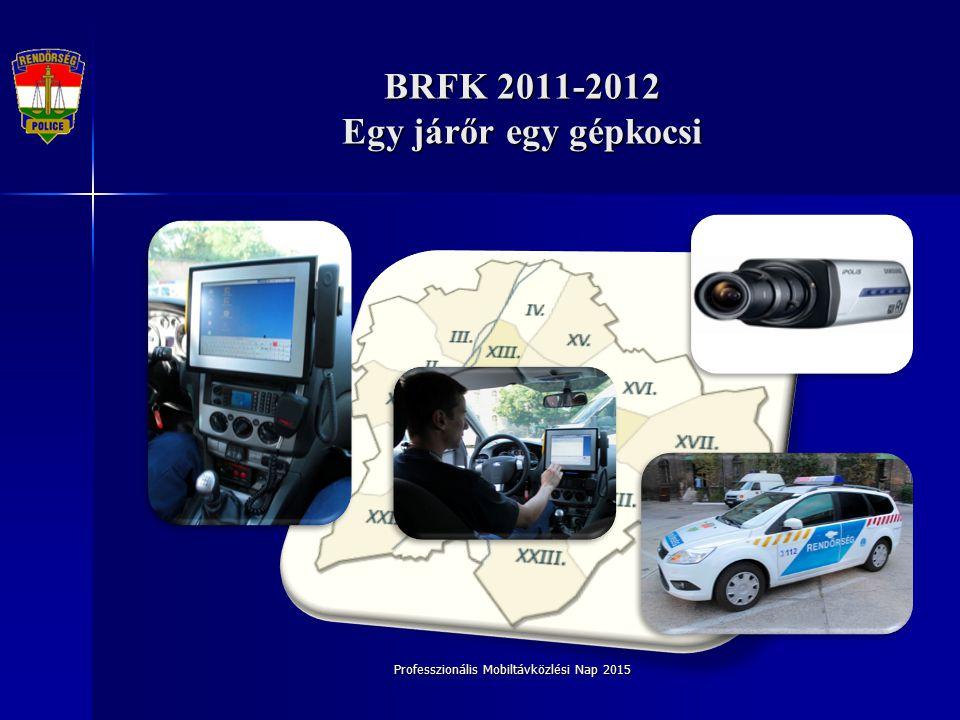 BRFK 2011-2012 Egy járőr egy gépkocsi