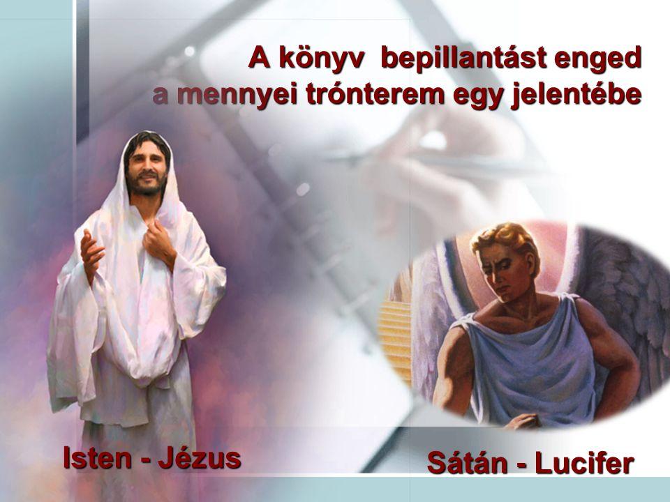 A könyv bepillantást enged a mennyei trónterem egy jelentébe
