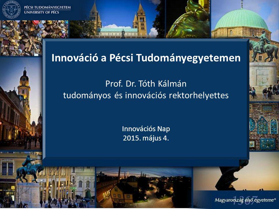 Innováció a Pécsi Tudományegyetemen