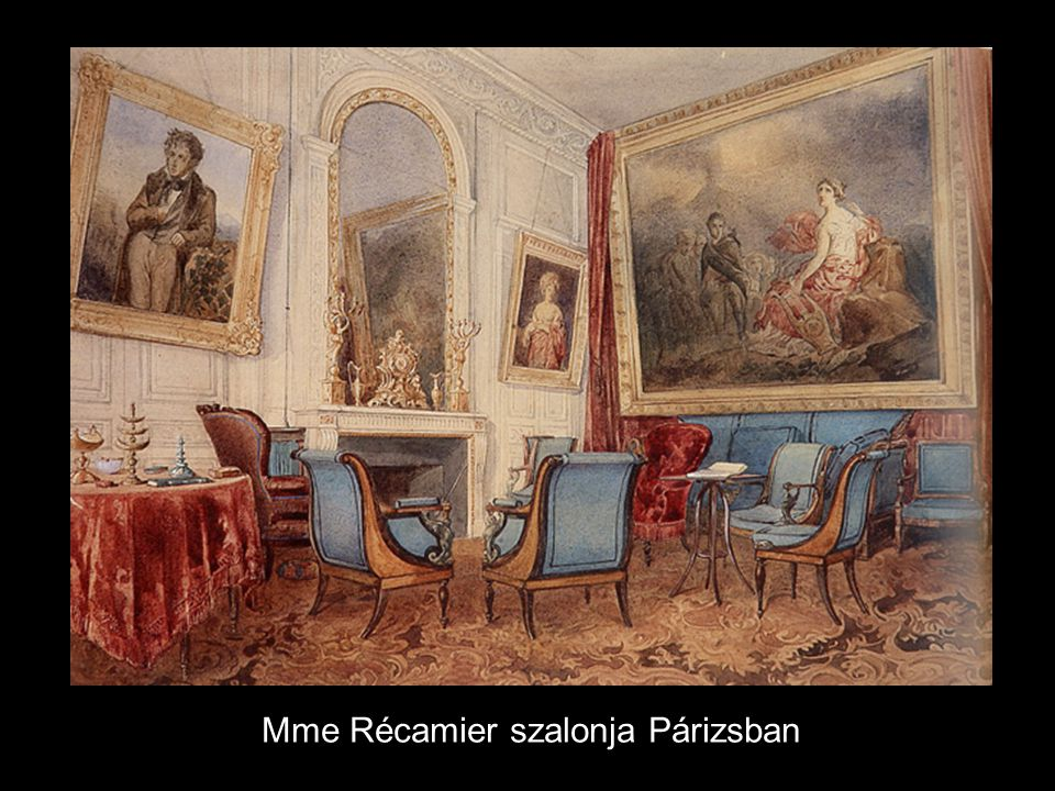 Mme Récamier szalonja Párizsban