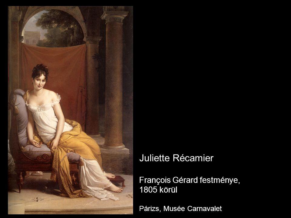 Juliette Récamier François Gérard festménye, 1805 körül