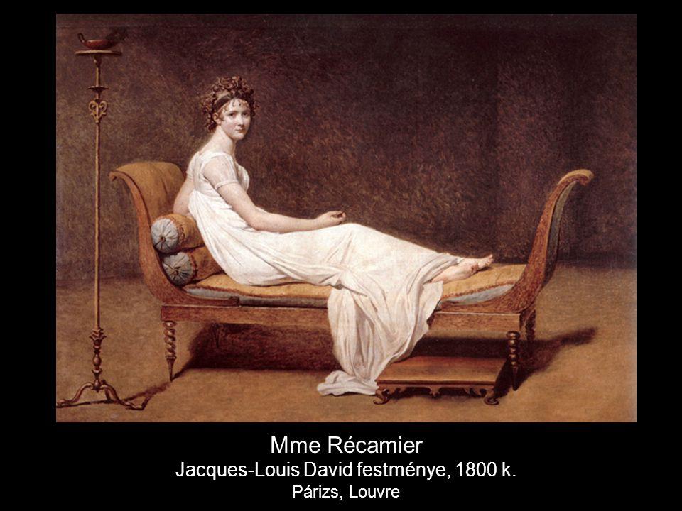 Jacques-Louis David festménye, 1800 k.