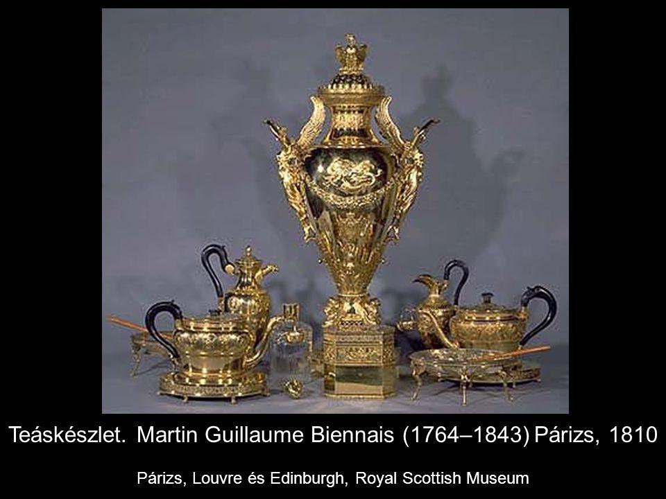Teáskészlet. Martin Guillaume Biennais (1764–1843) Párizs, 1810