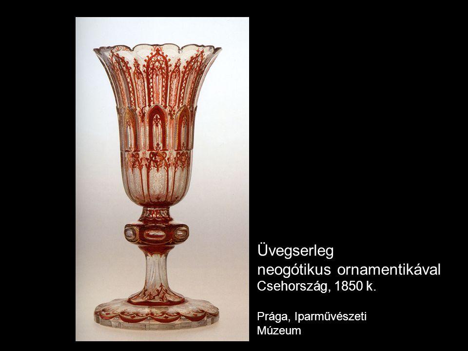 neogótikus ornamentikával