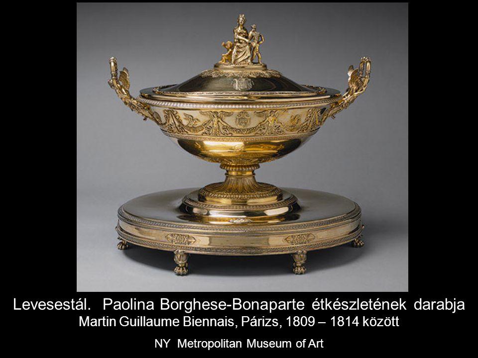 Levesestál. Paolina Borghese-Bonaparte étkészletének darabja