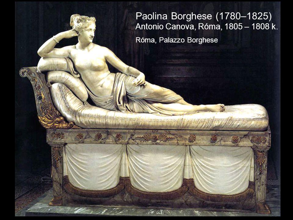 Paolina Borghese (1780–1825) Antonio Canova, Róma, 1805 – 1808 k.