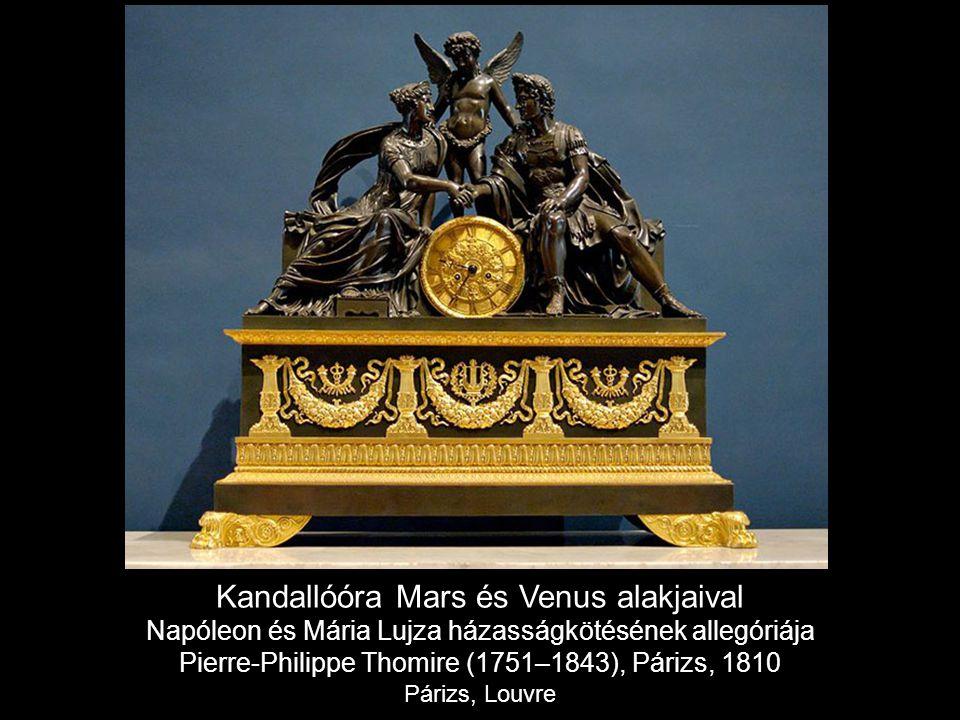 Kandallóóra Mars és Venus alakjaival