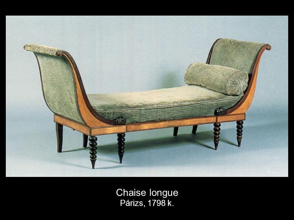 Chaise longue Párizs, 1798 k.