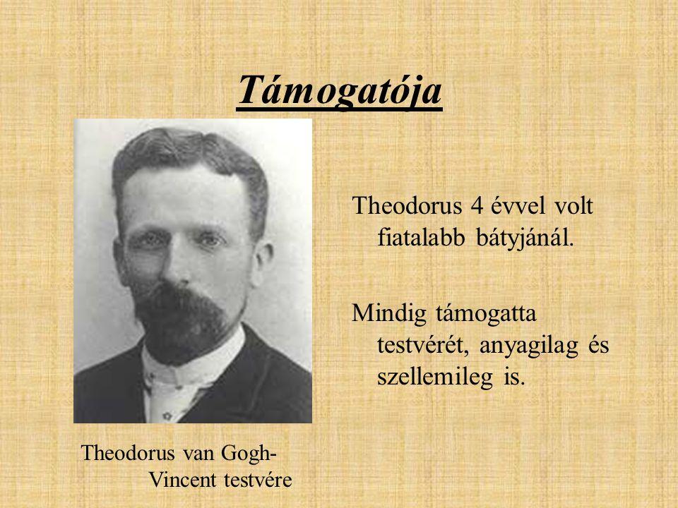 Támogatója Theodorus 4 évvel volt fiatalabb bátyjánál.