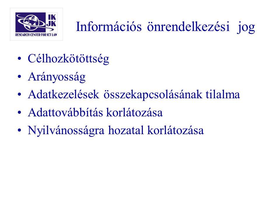 Információs önrendelkezési jog