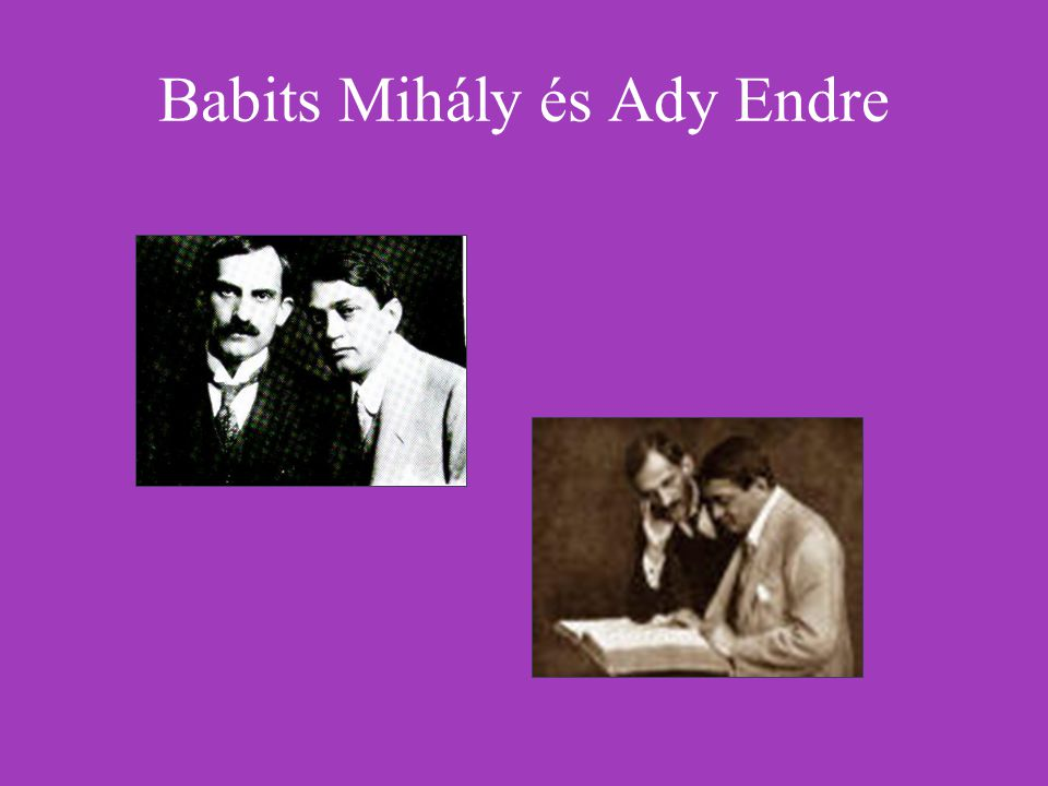 Babits Mihály és Ady Endre