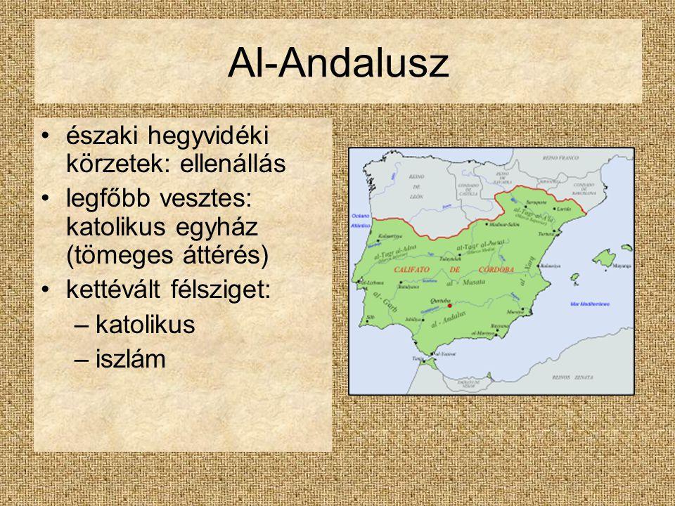 Al-Andalusz északi hegyvidéki körzetek: ellenállás