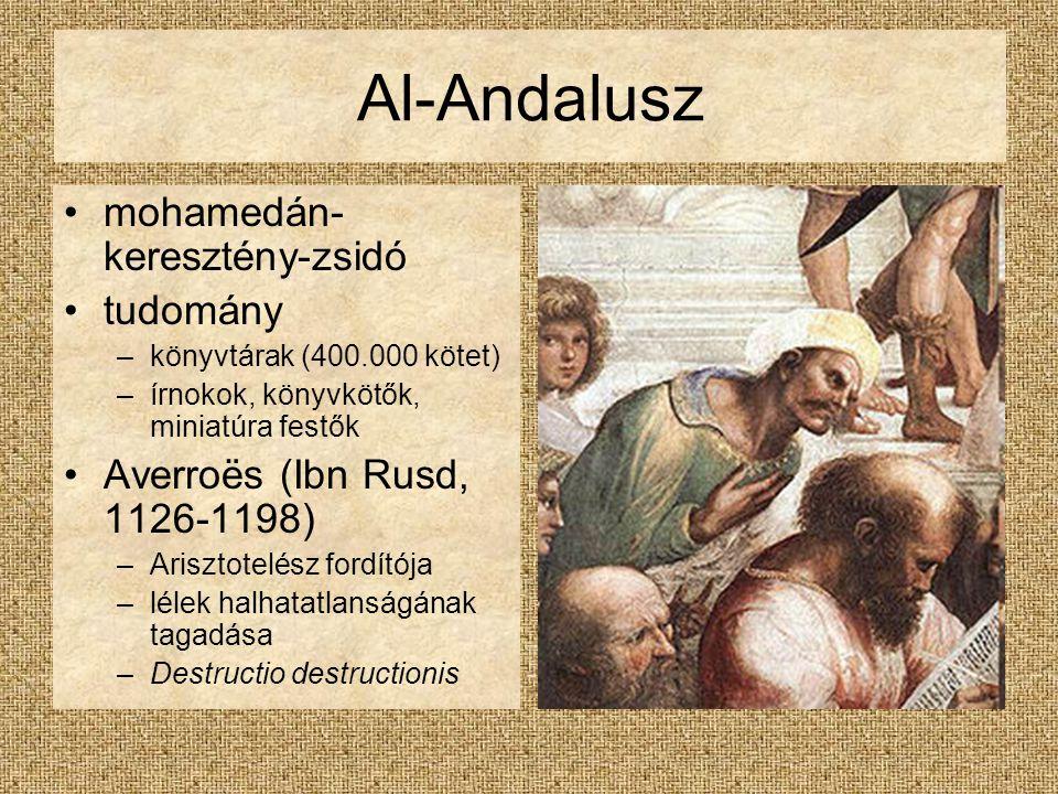Al-Andalusz mohamedán-keresztény-zsidó tudomány