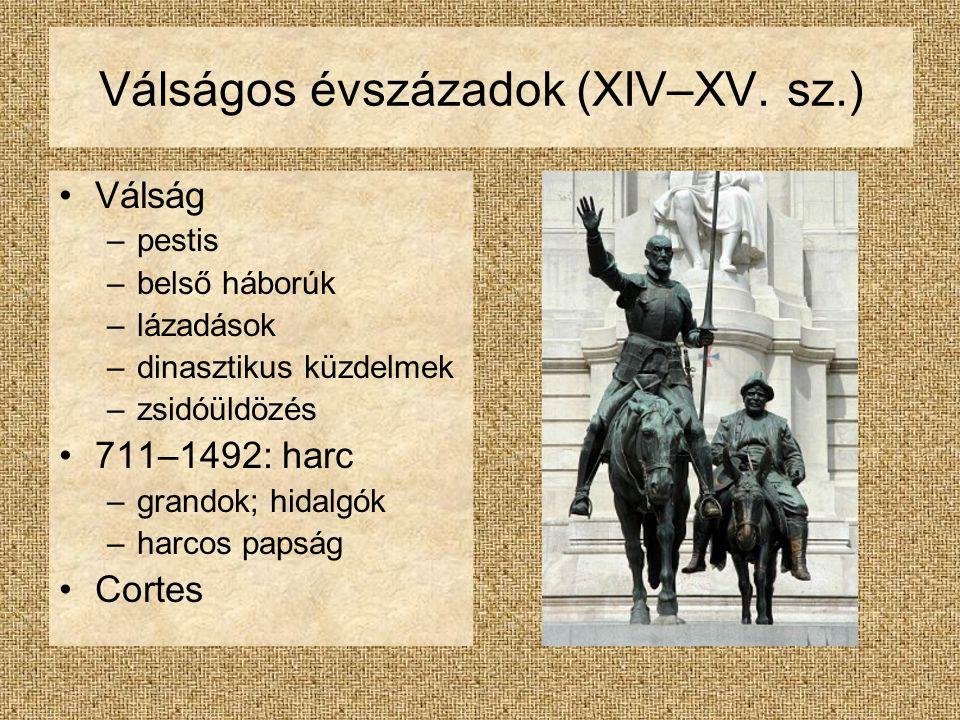 Válságos évszázadok (XIV–XV. sz.)