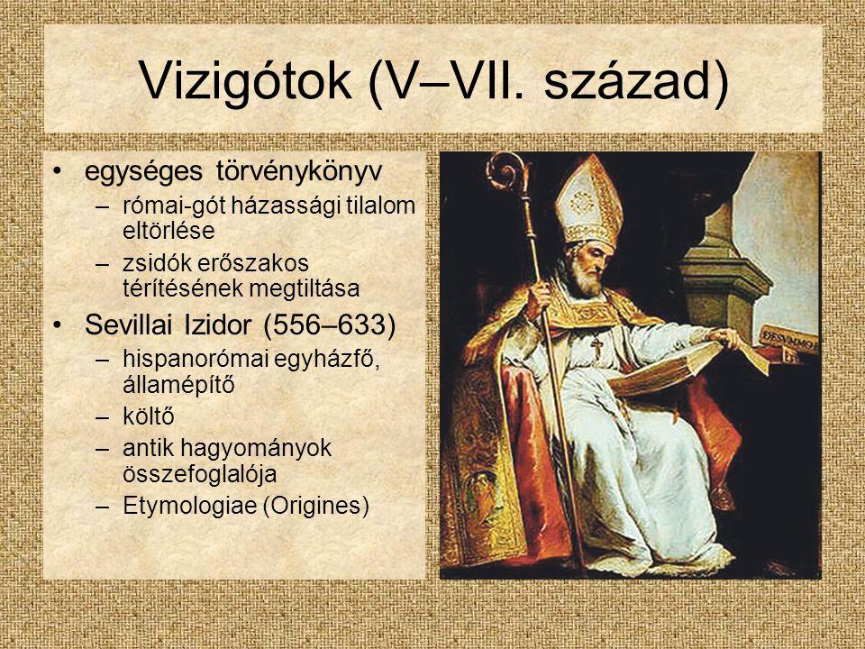 Vizigótok (V–VII. század)