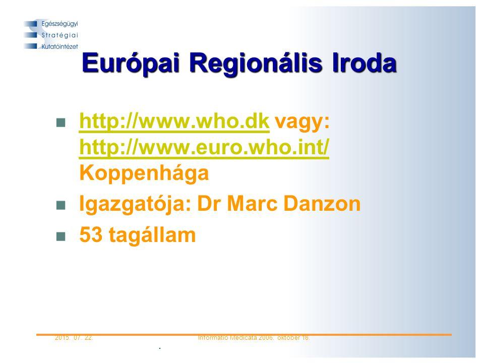 Európai Regionális Iroda