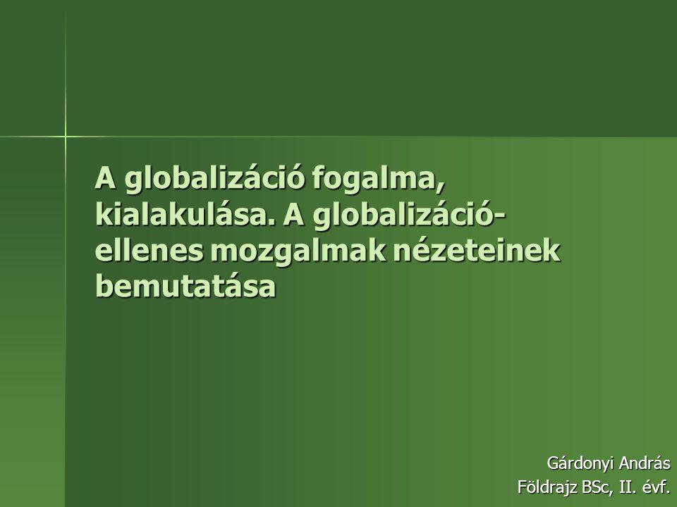 Gárdonyi András Földrajz BSc, II. évf.