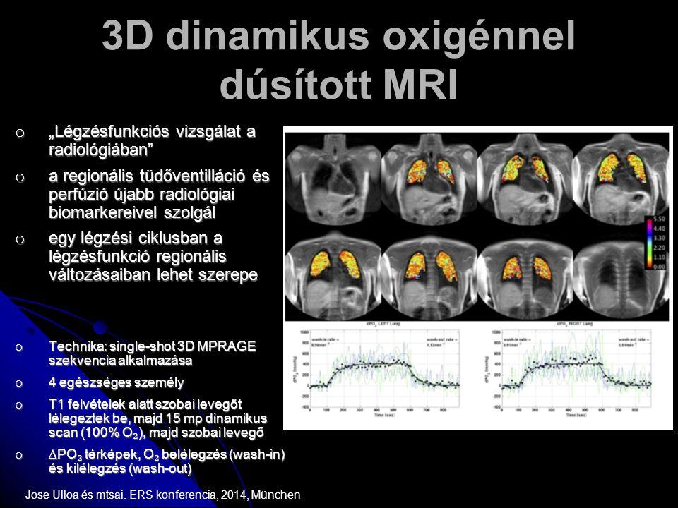 3D dinamikus oxigénnel dúsított MRI