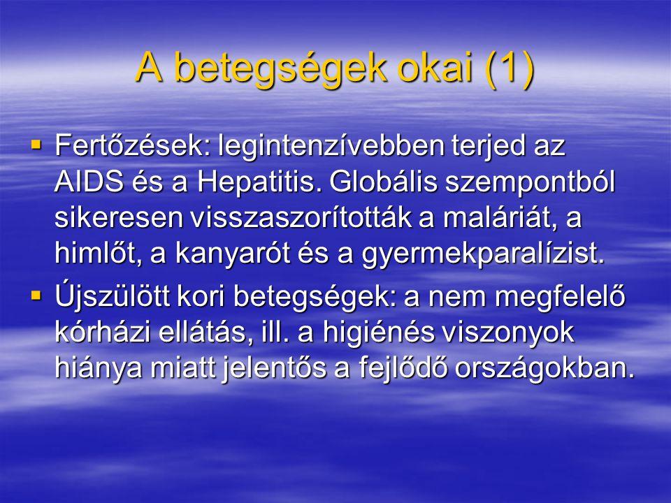A betegségek okai (1)