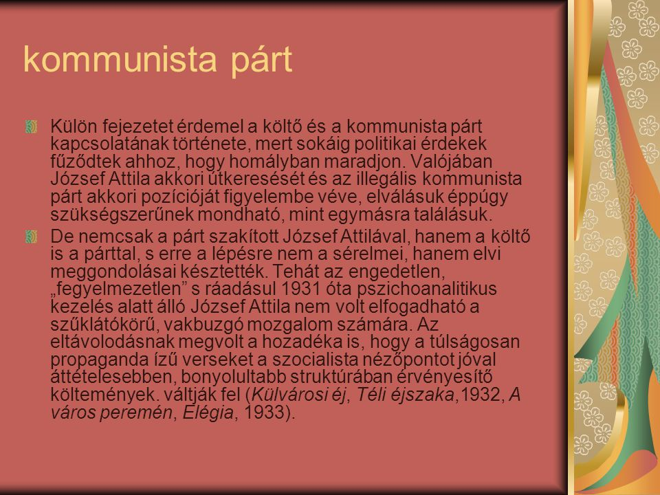 kommunista párt