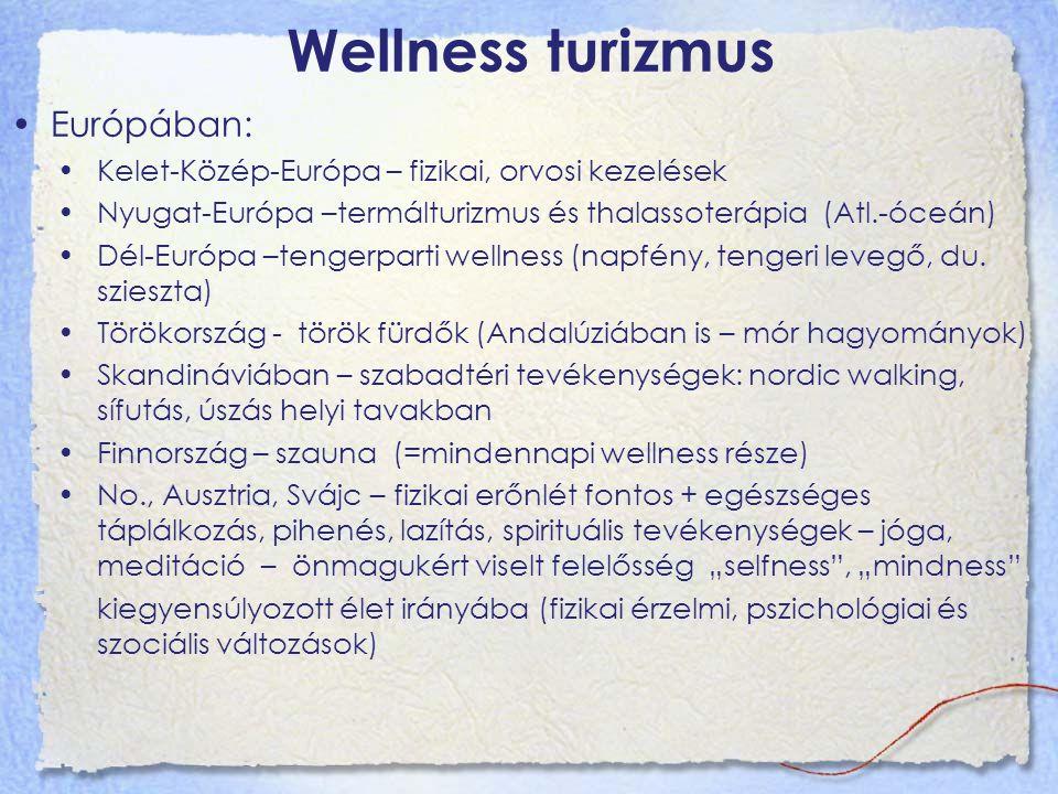 Wellness turizmus Európában: