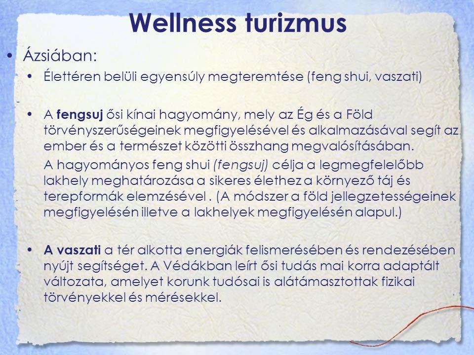 Wellness turizmus Ázsiában: