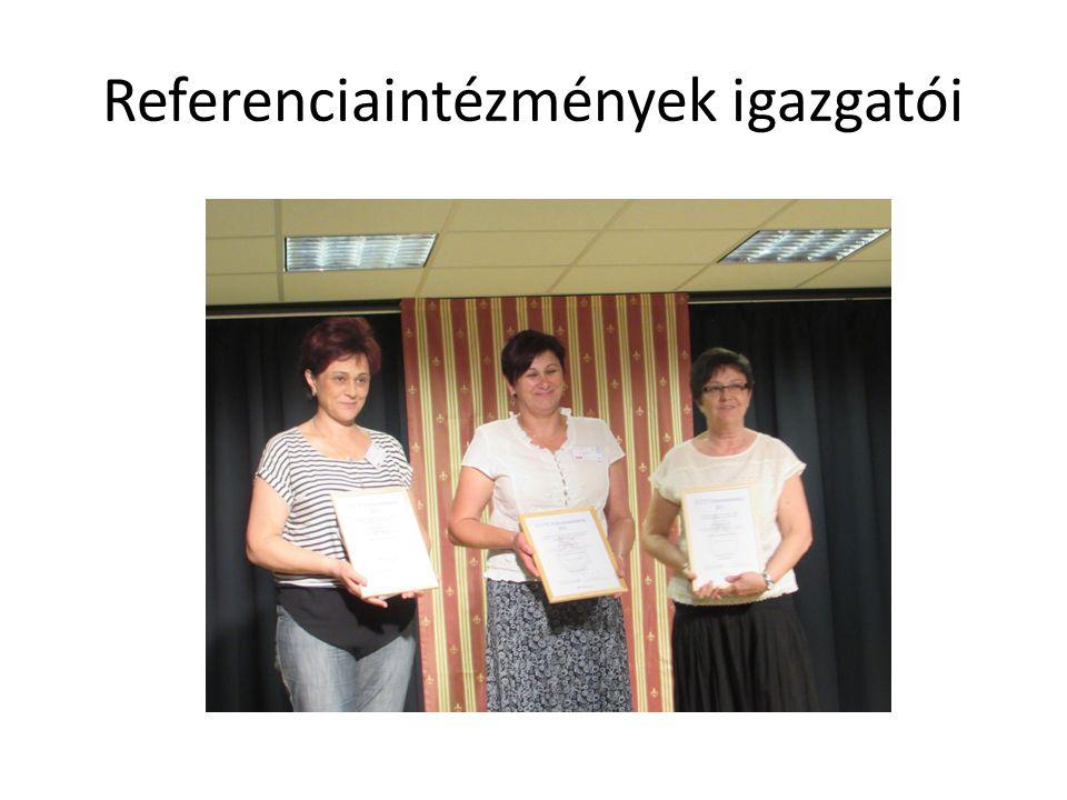 Referenciaintézmények igazgatói
