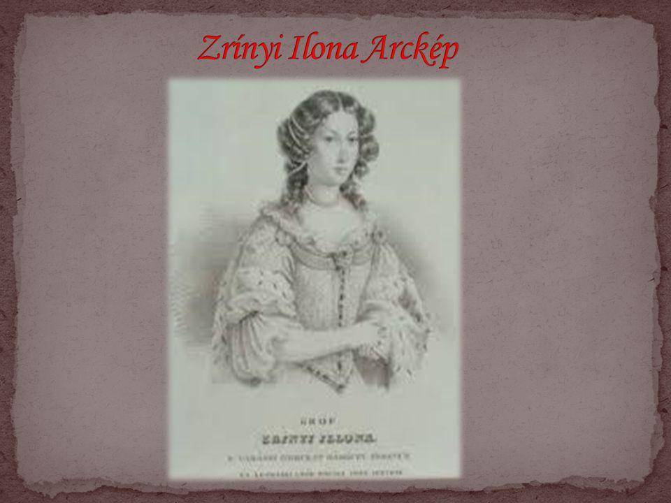 Zrínyi Ilona Arckép