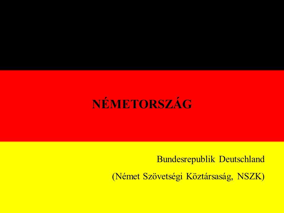 NÉMETORSZÁG Bundesrepublik Deutschland