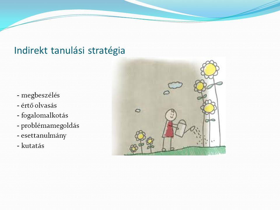 Indirekt tanulási stratégia