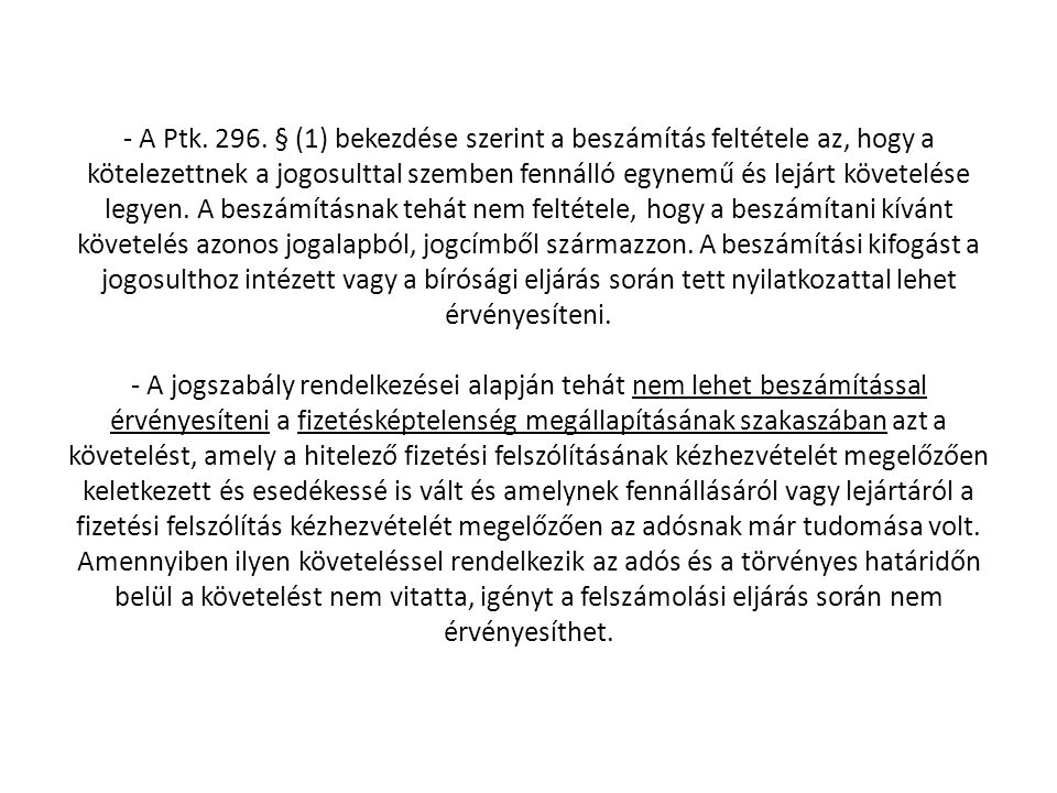 - A Ptk. 296.