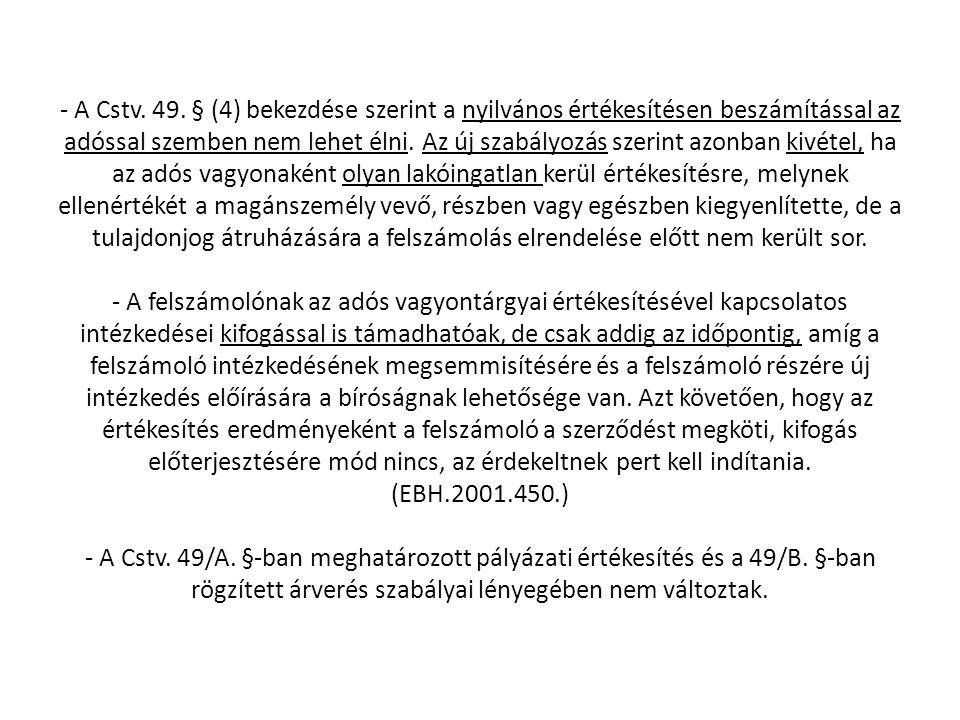 - A Cstv. 49.