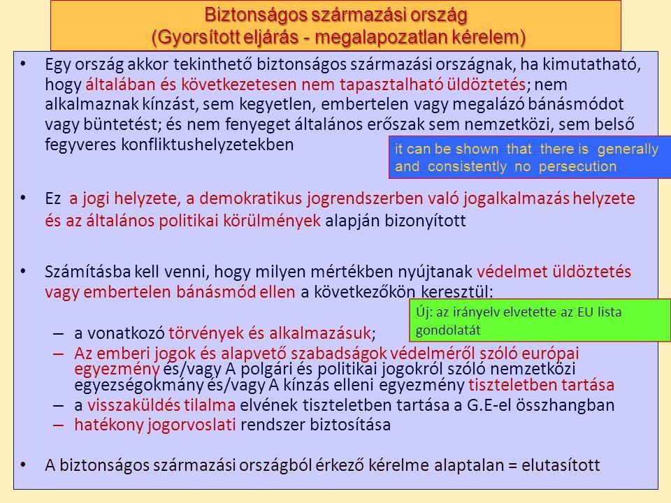 a vonatkozó törvények és alkalmazásuk;