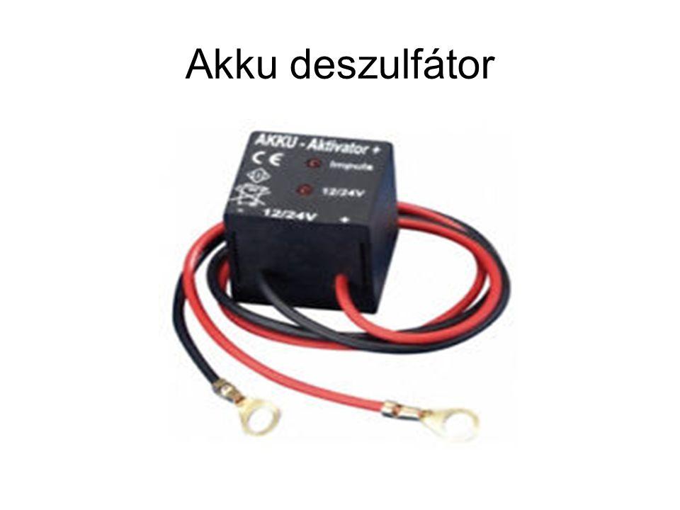 Akku deszulfátor