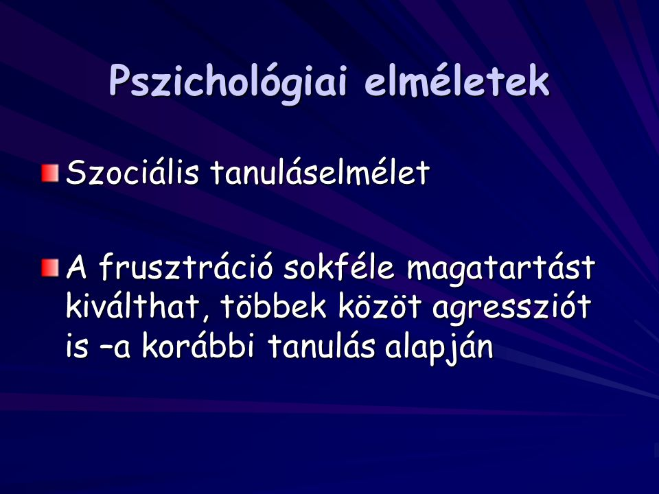 Pszichológiai elméletek